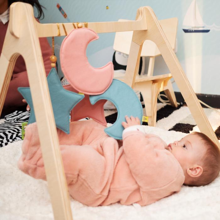 Baby Gym - Cinza Espacial
