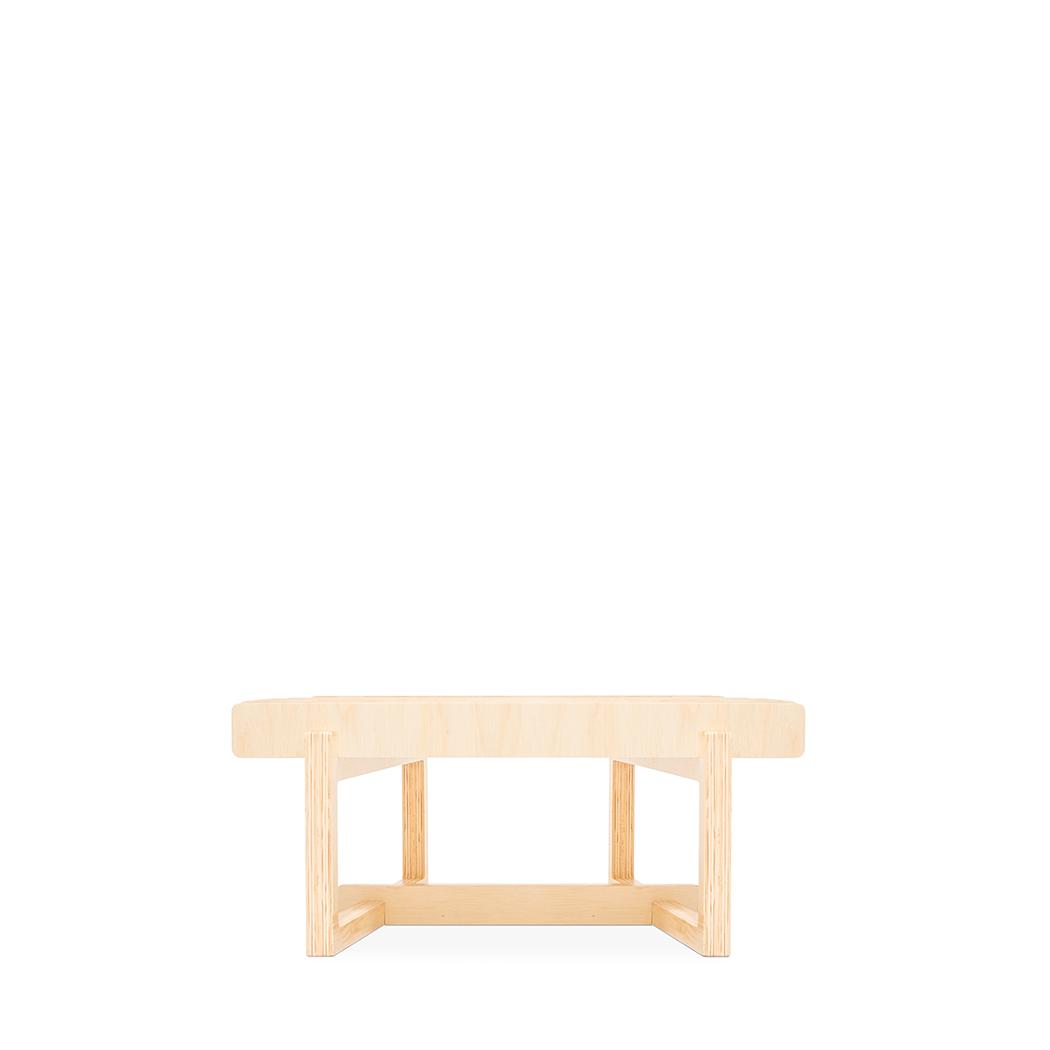 Mesa de Centro Paralela Pequena Natural