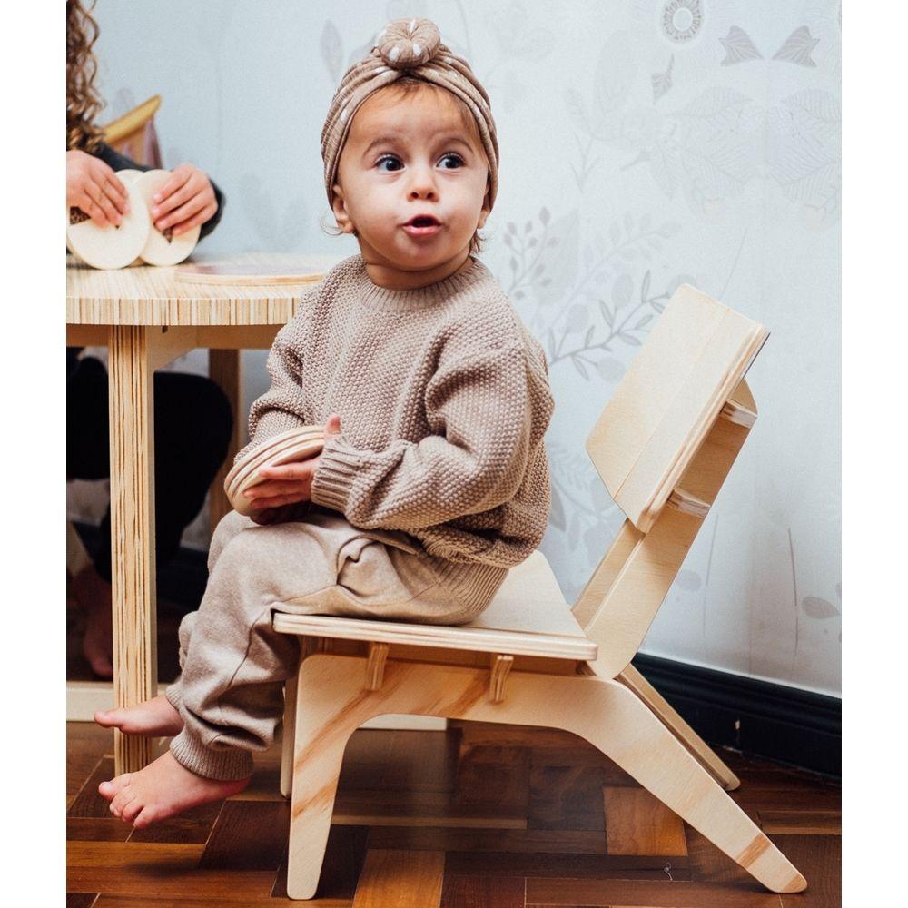 Cadeirinha Infantil Carambelinha Natural