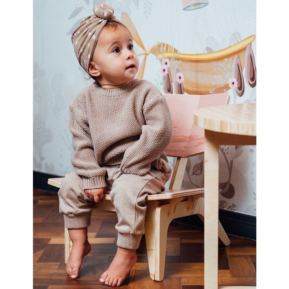 Cadeirinha Infantil Carambelinha - Rosa Bebê