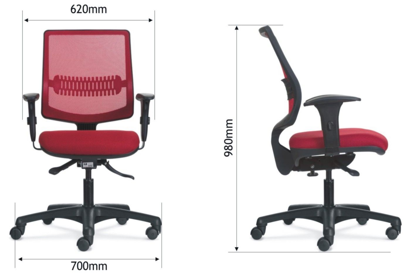 B2w Cadeira Flexform Uni Me Red R 485 19 Frete