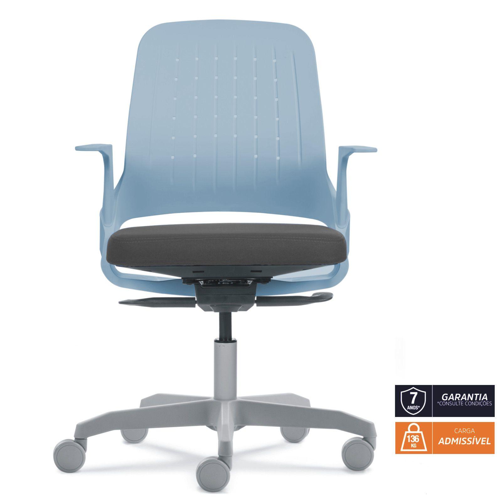 Cadeira My Chair Blue Grey Flexform