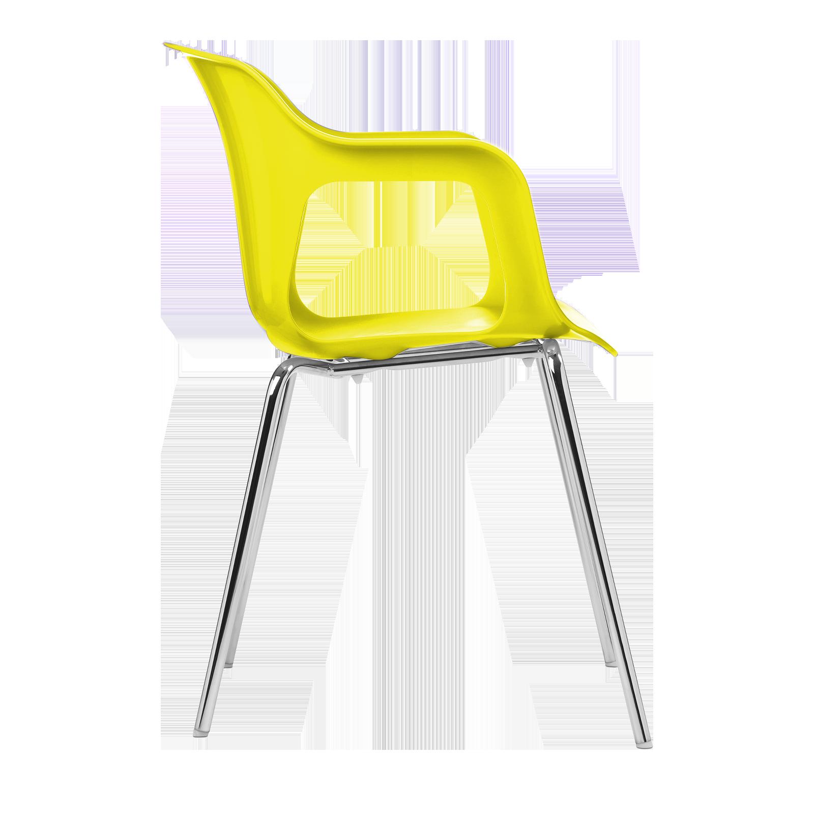Cadeira Geos Chrome Yellow