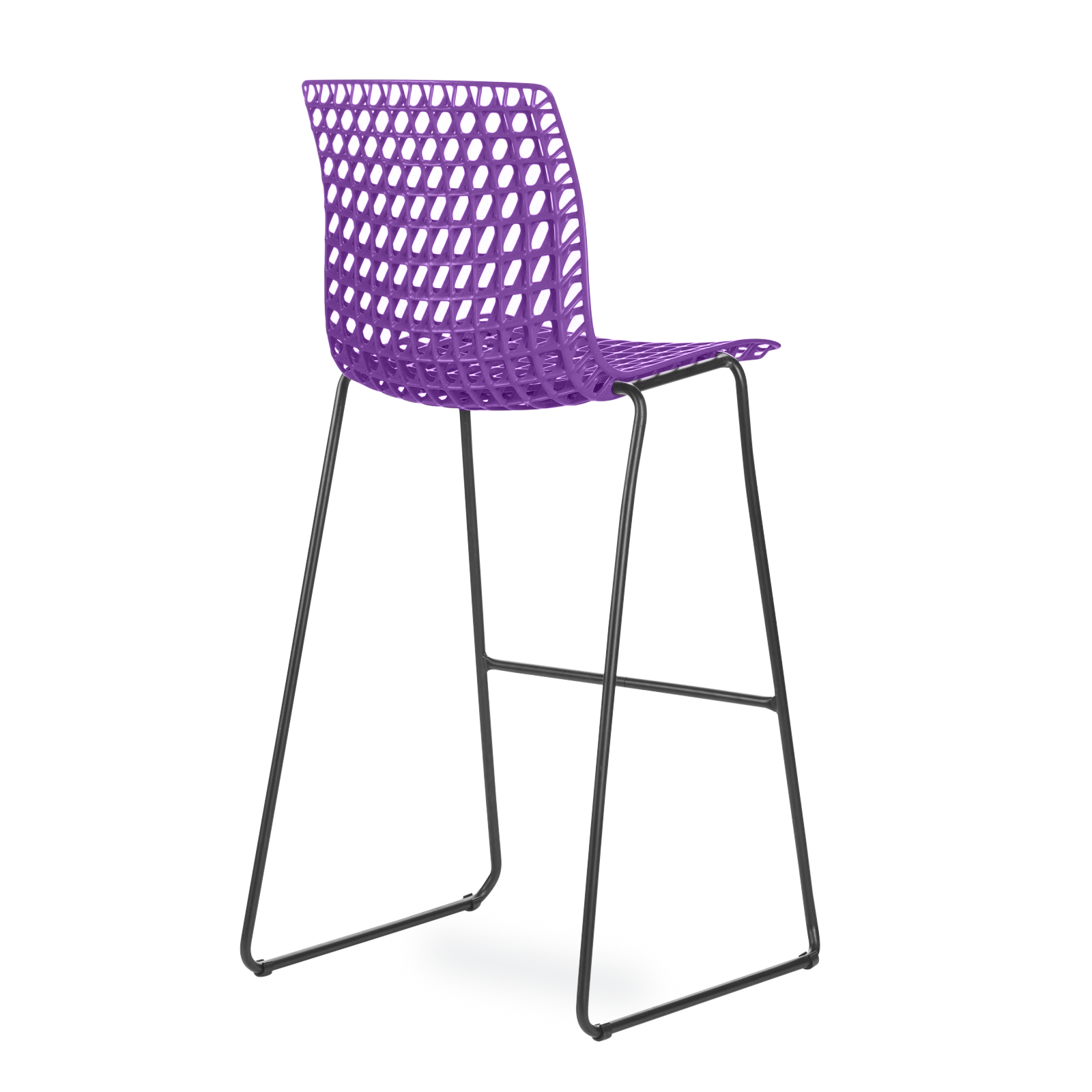 Banqueta Moiré Purple