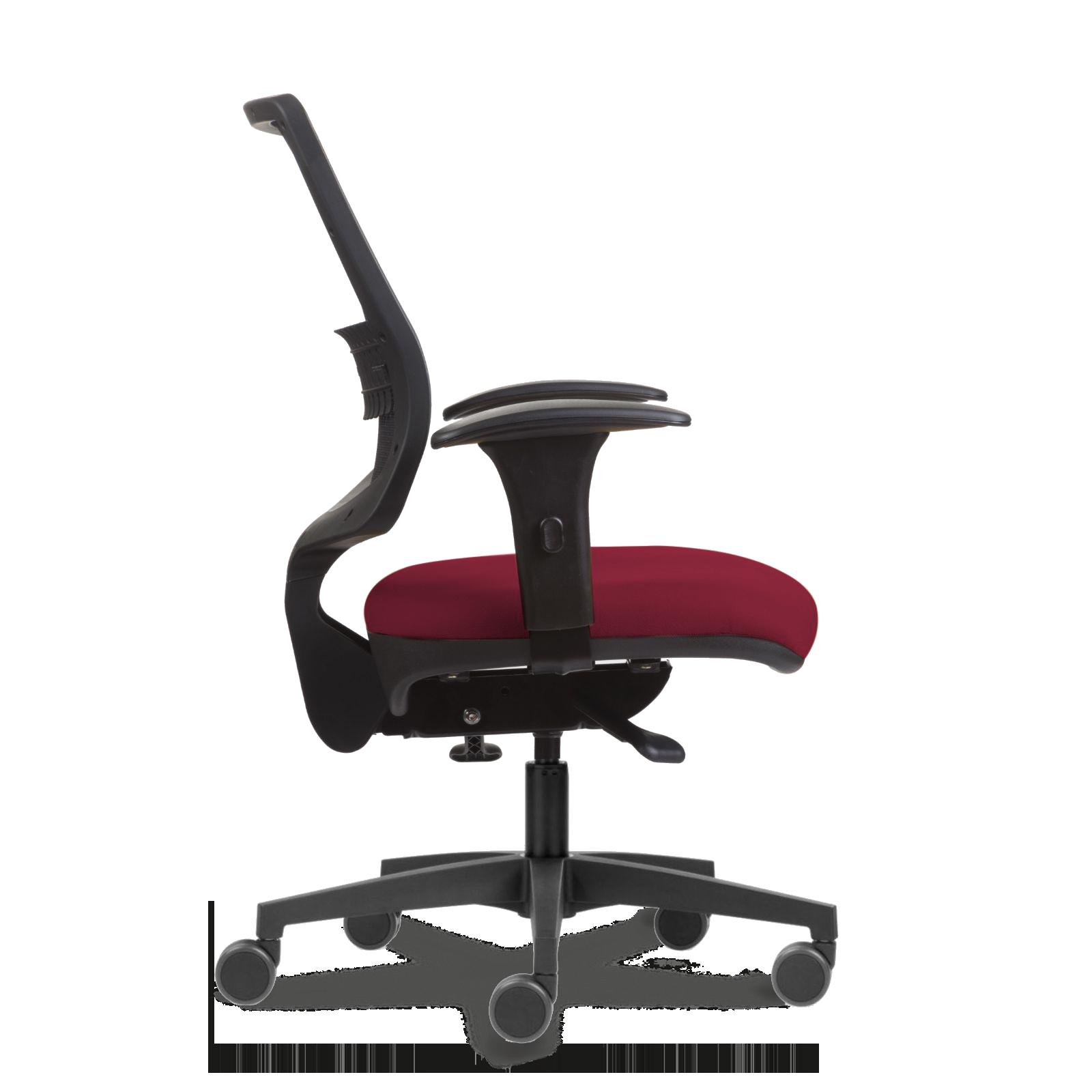 Cadeira Uni Black n Red