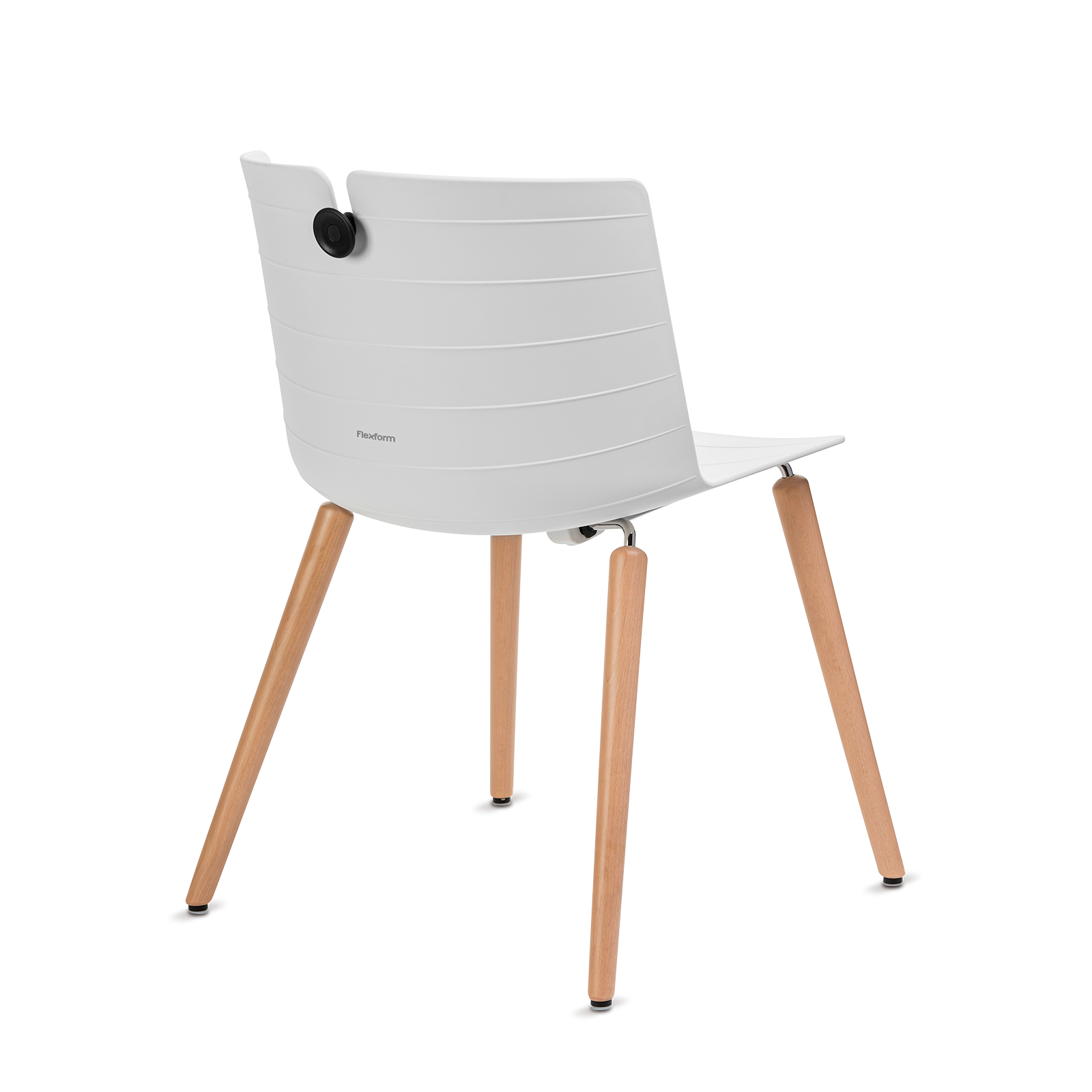 Cadeira Mork White Wood