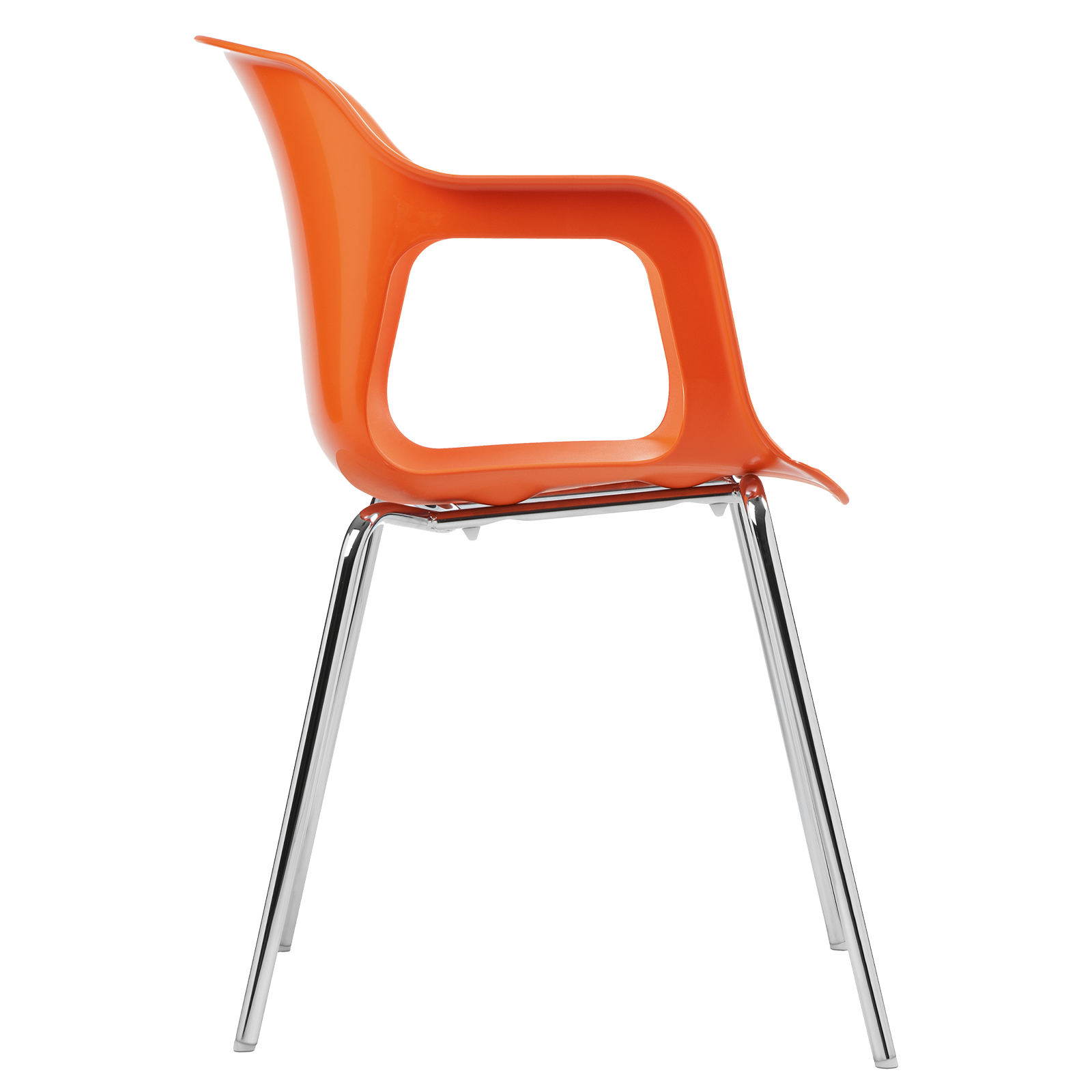 cadeira geos chrome orange