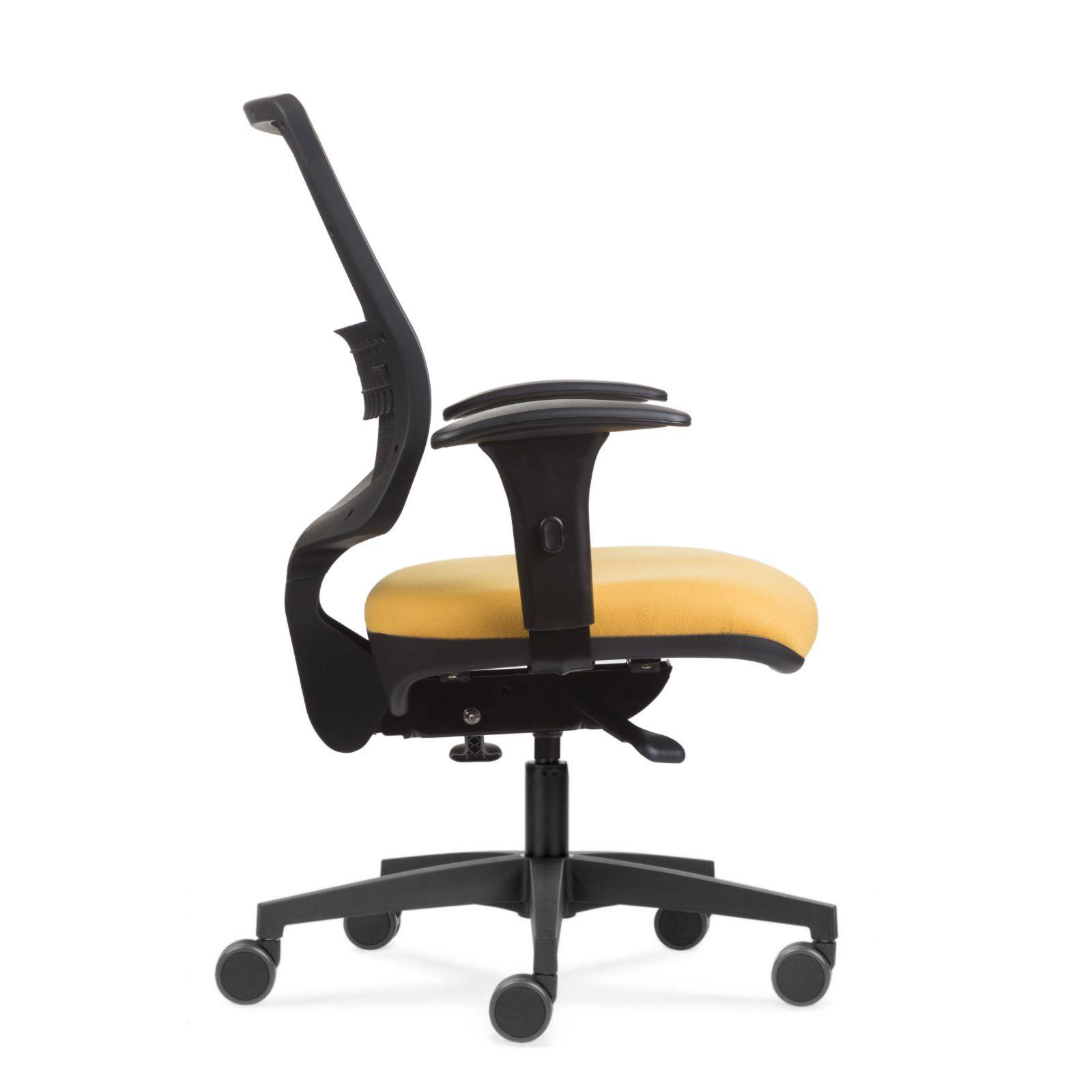 Cadeira Uni Black Yellow