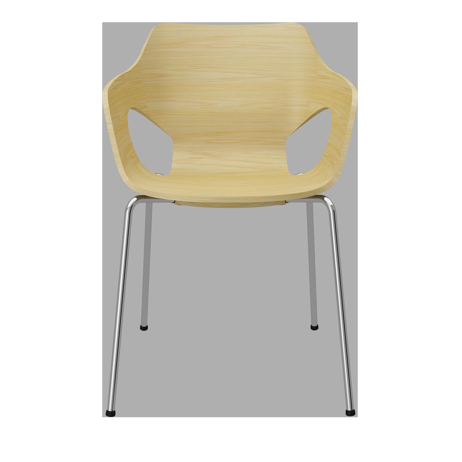 Cadeira Olé Wood Natural Oak