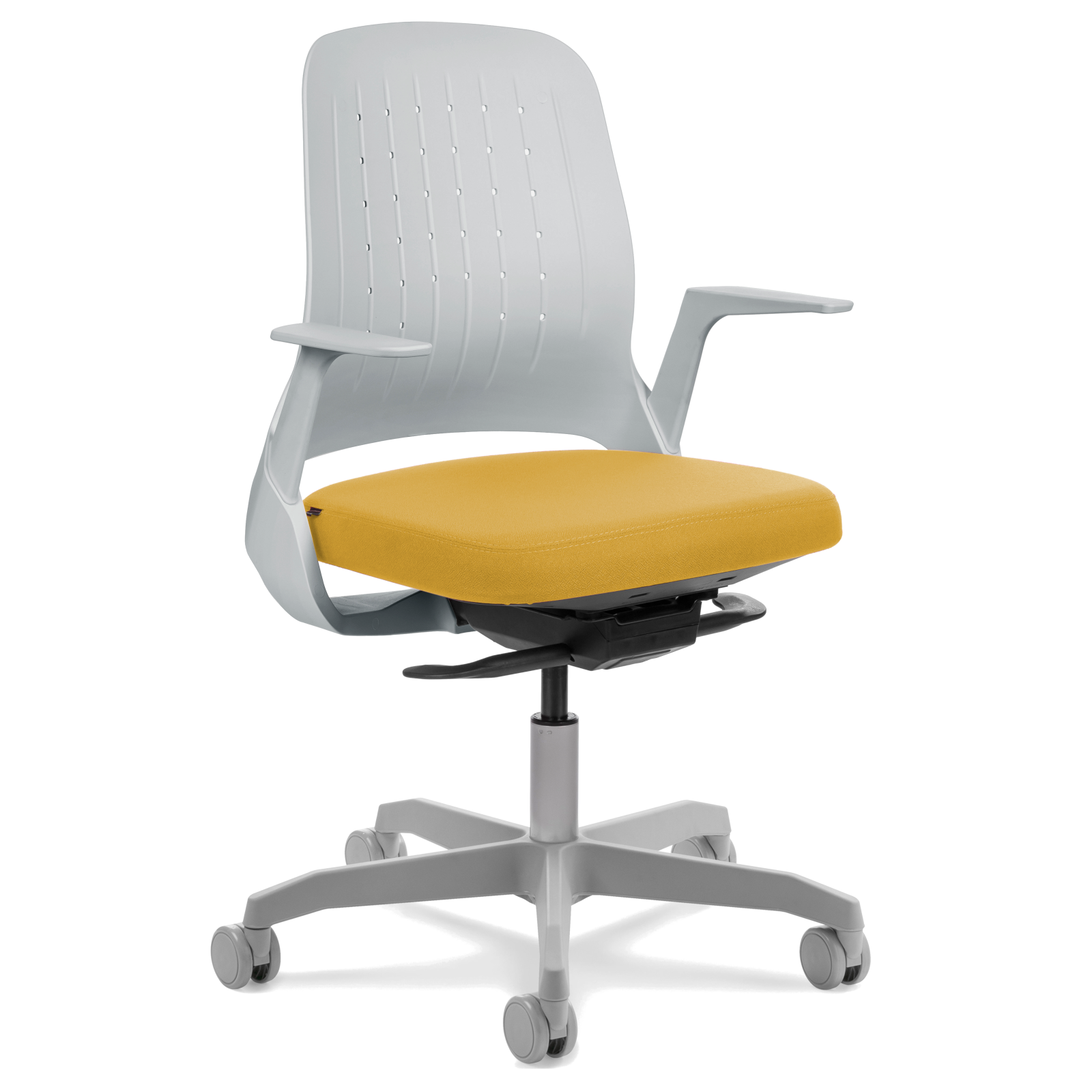 Cadeira My Chair Light Grey Yellow