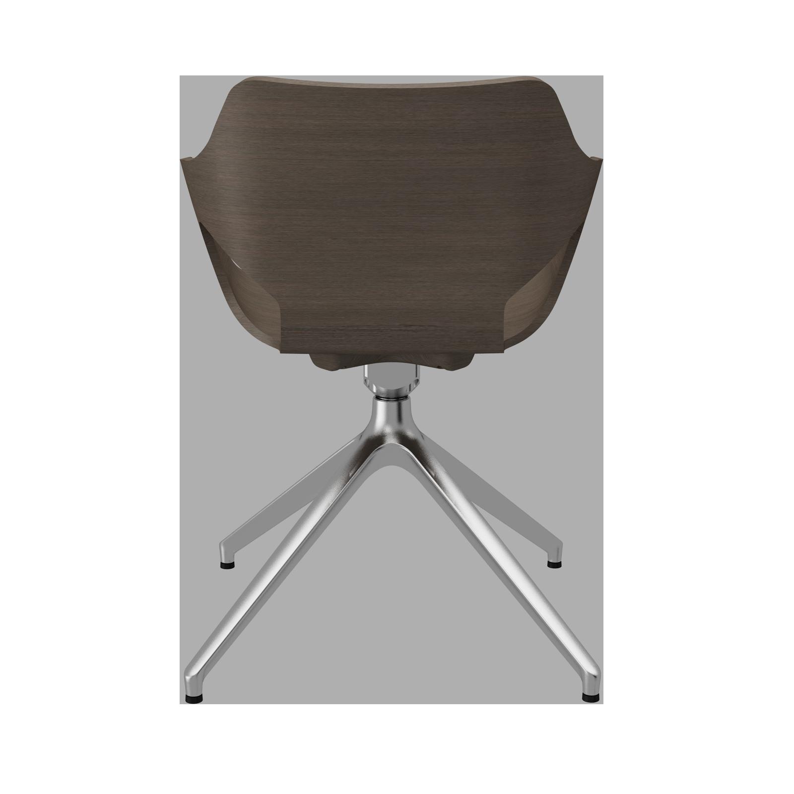 Cadeira Olé Wood Wengé Piramidal