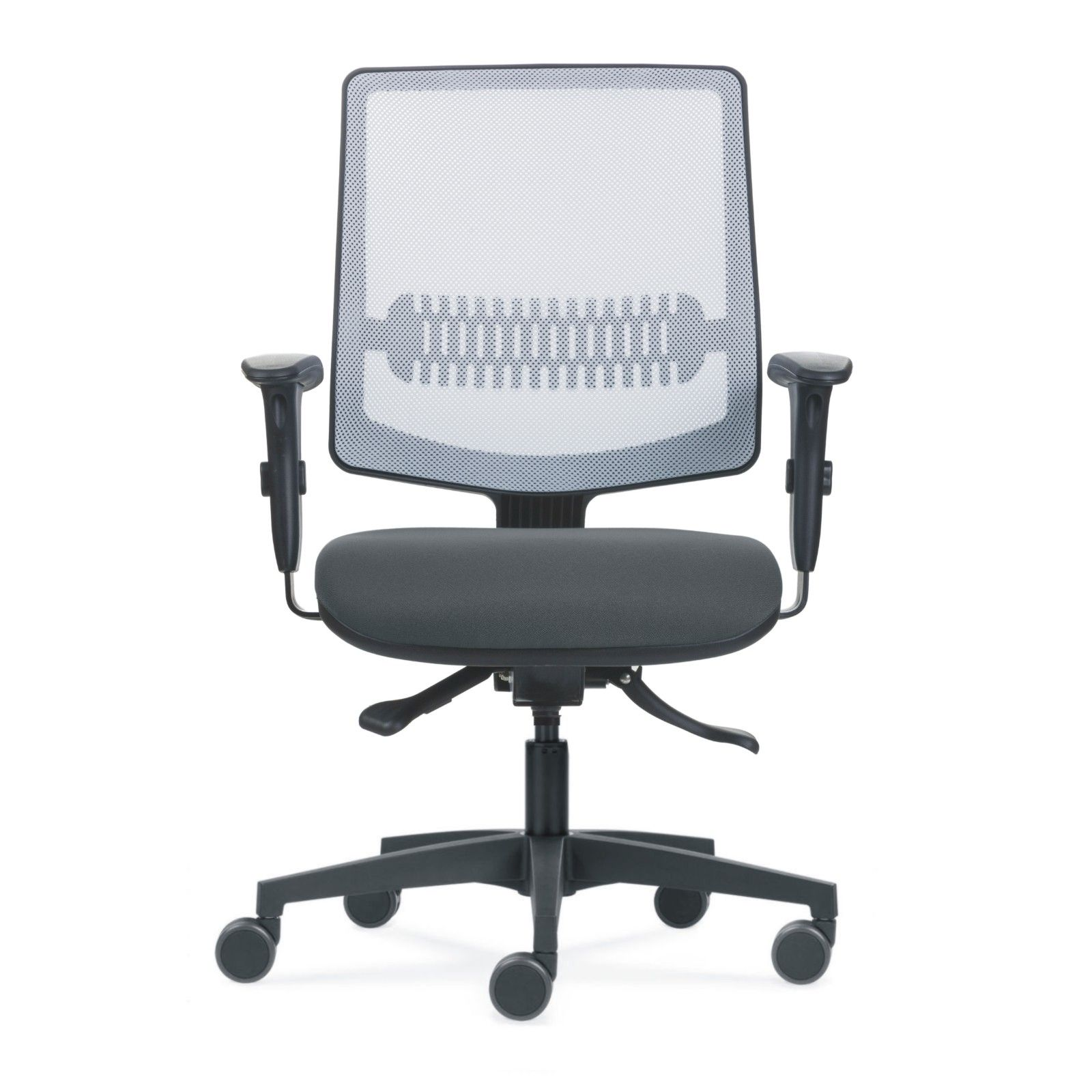 Cadeira Uni White n Grey