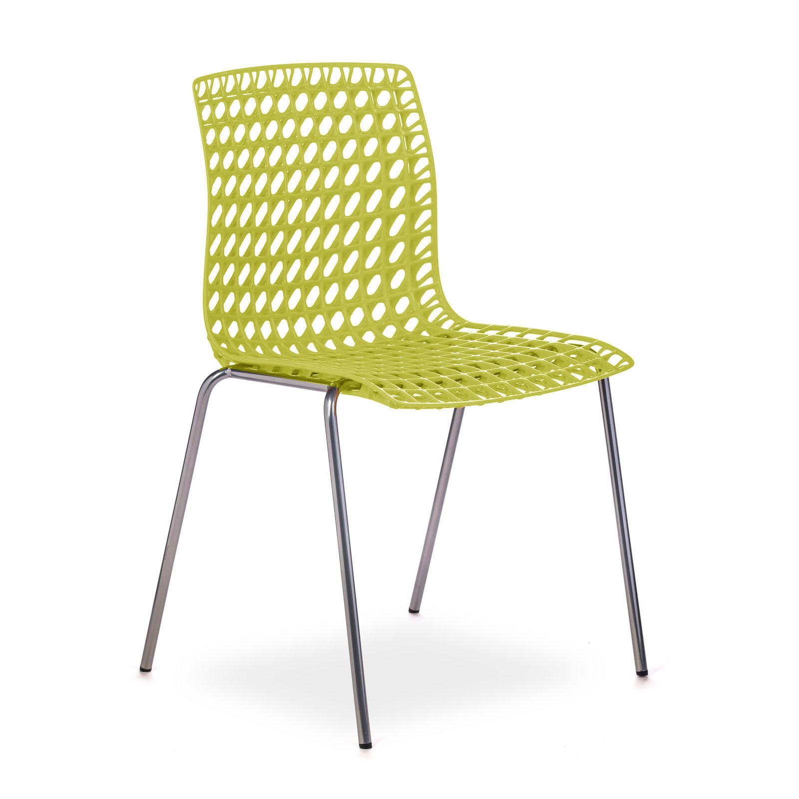 cadeira moiré yellow