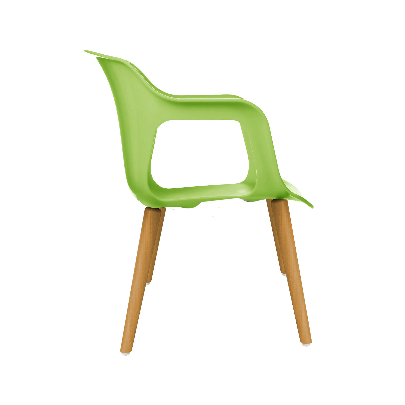 cadeira geos wood green