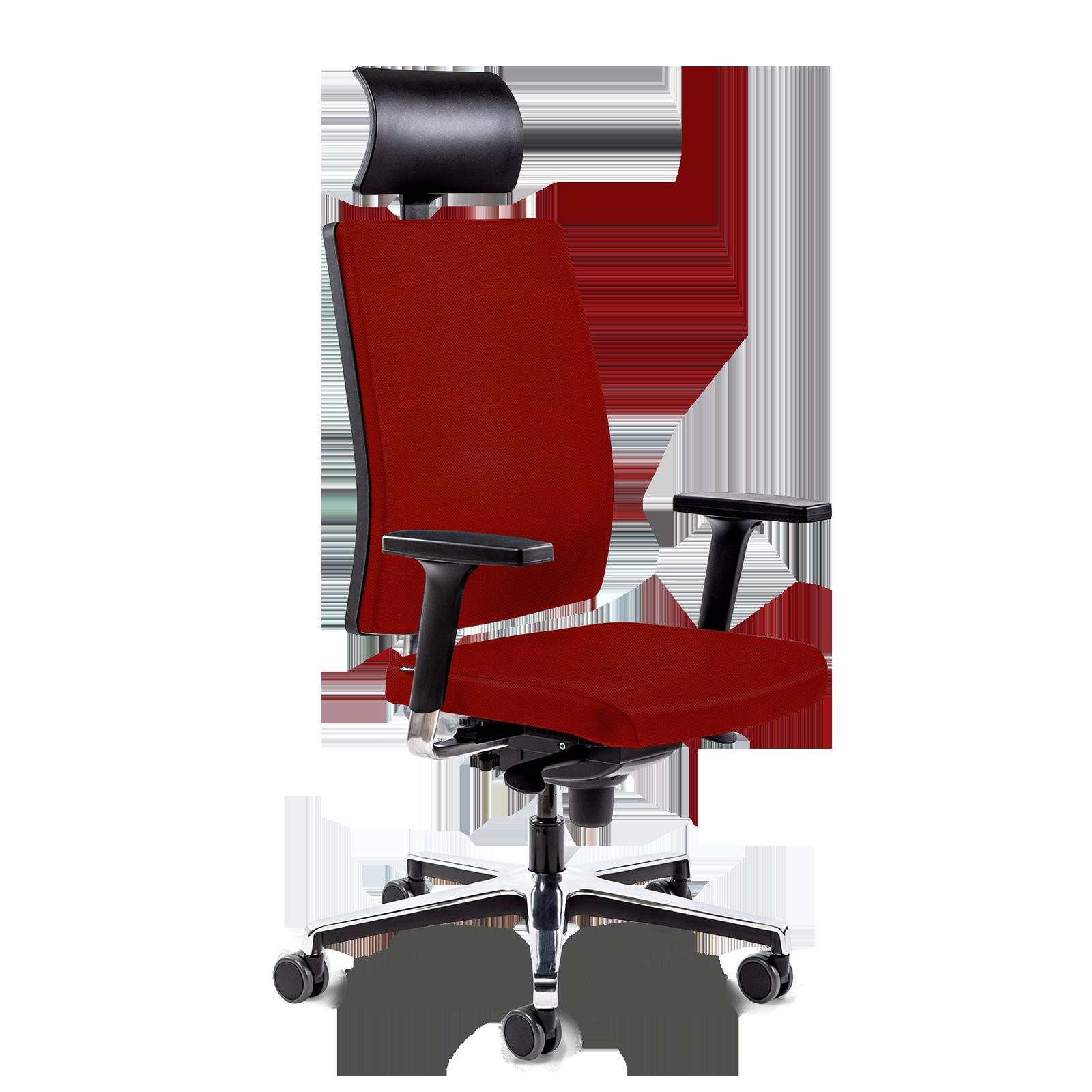 Cadeira Led All Red Aluminium