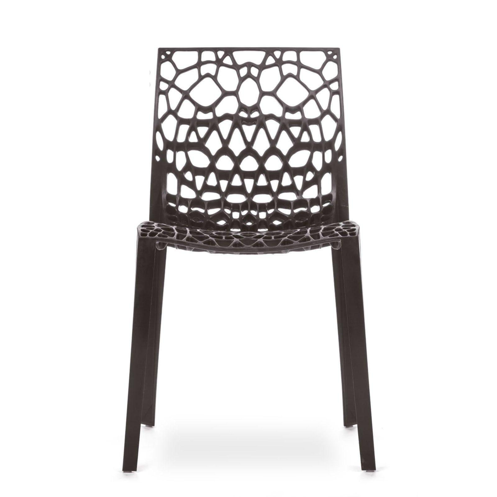 Conjunto com 4 Cadeiras Coral Brown