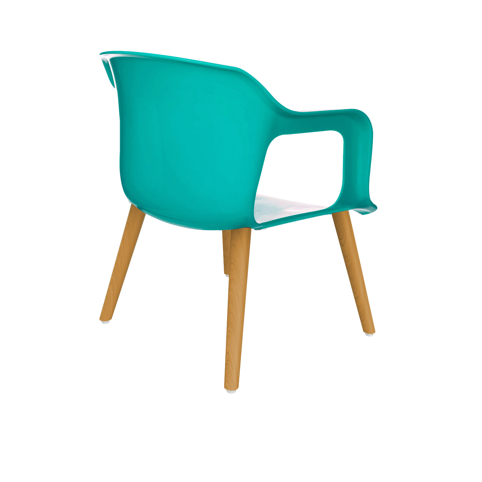 Cadeira Geos Wood Blue
