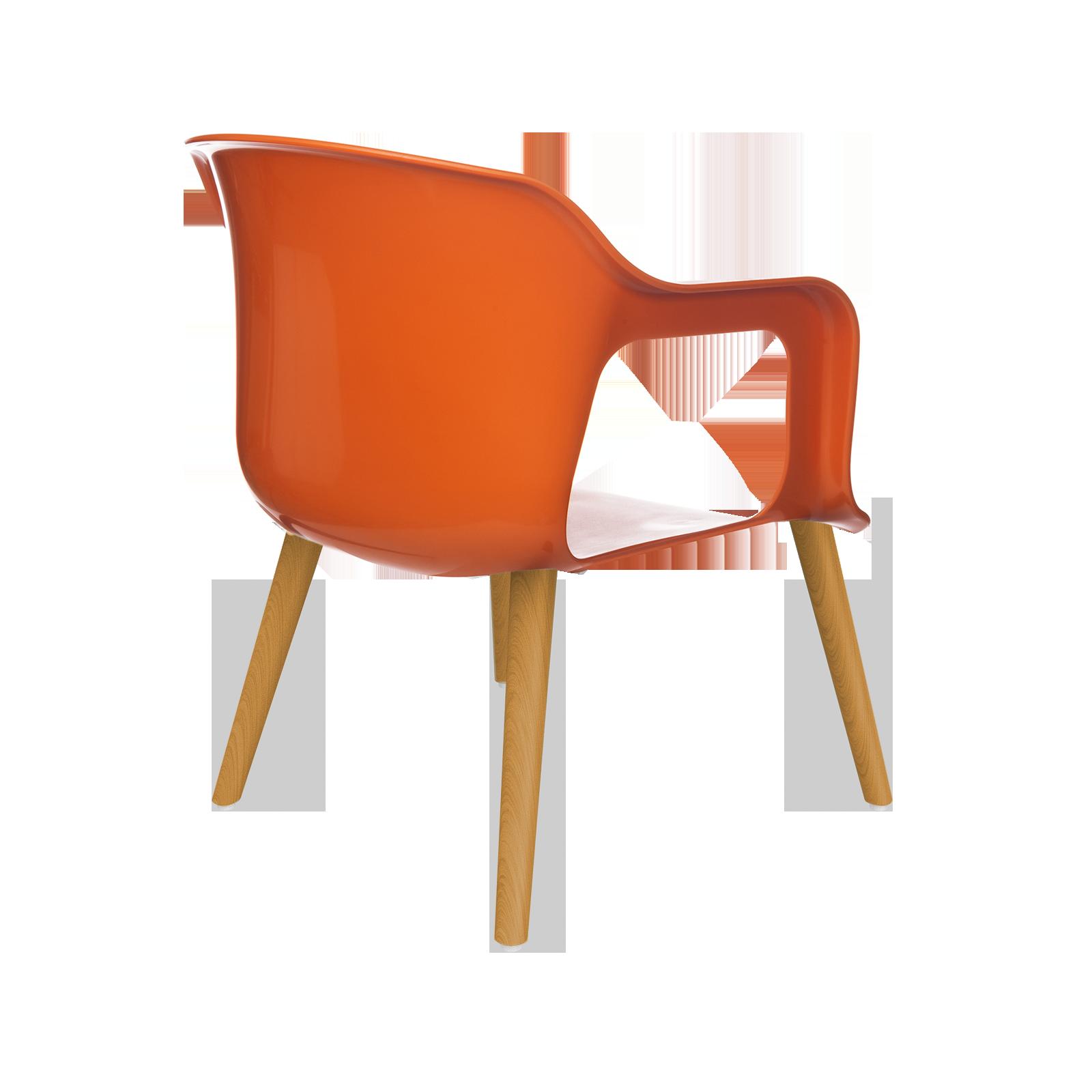 Cadeira Geos Wood Orange