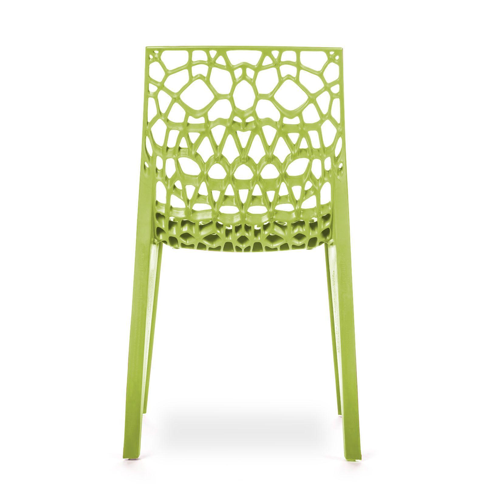 Conjunto com 4 Cadeiras Coral Green