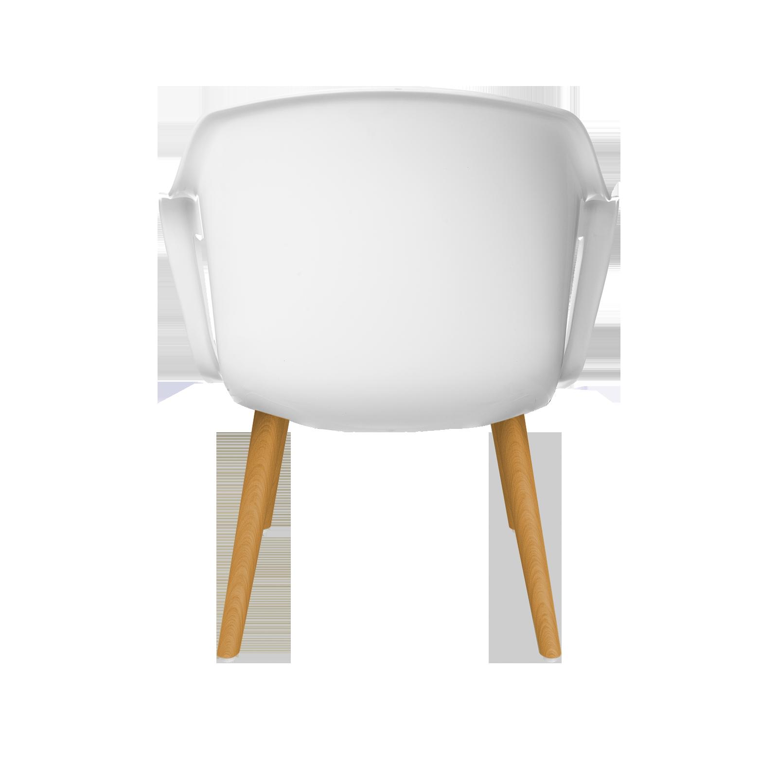 Cadeira Geos Wood White