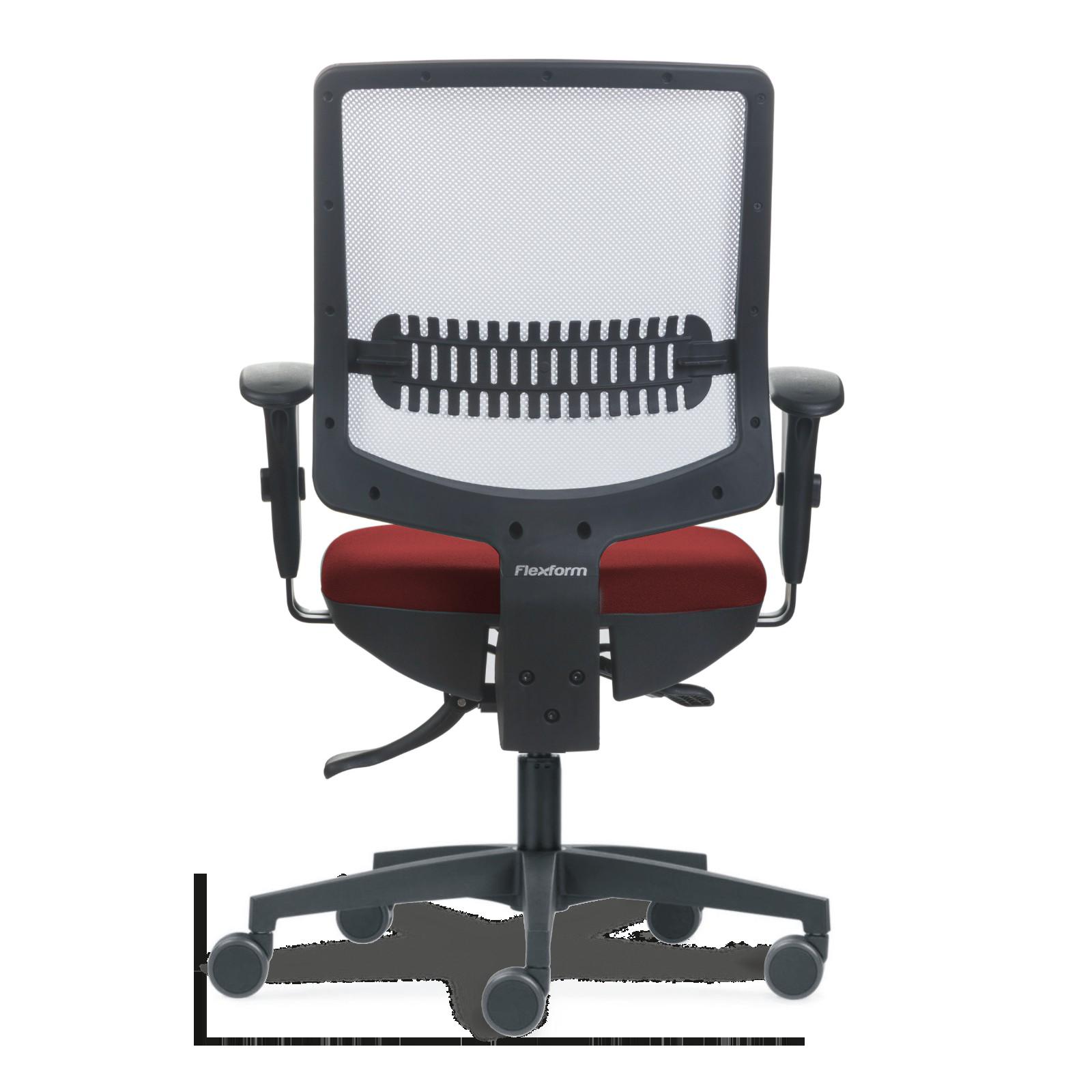 Cadeira Uni White n Red