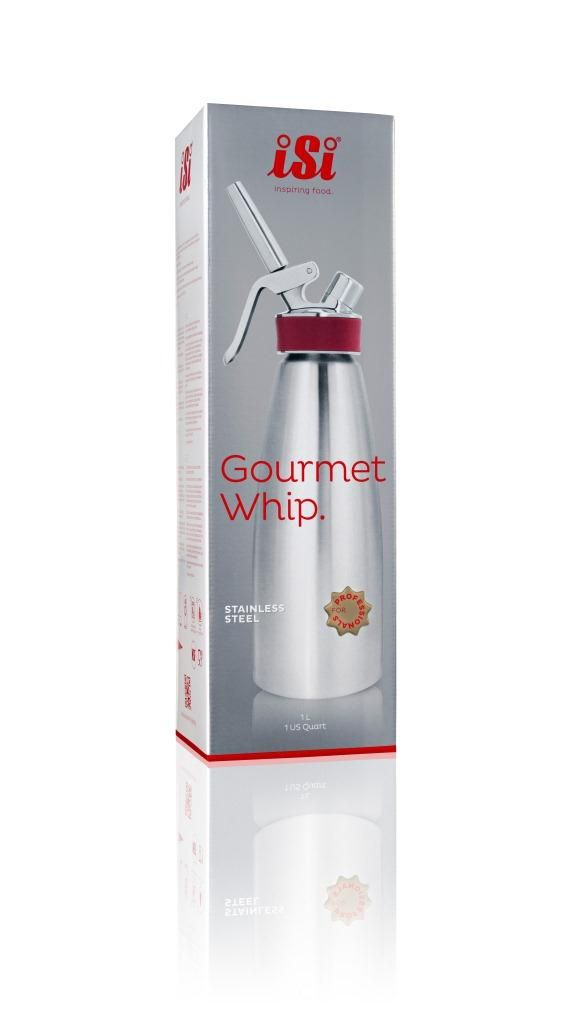 Sifão iSi Gourmet Whip - 1 litro
