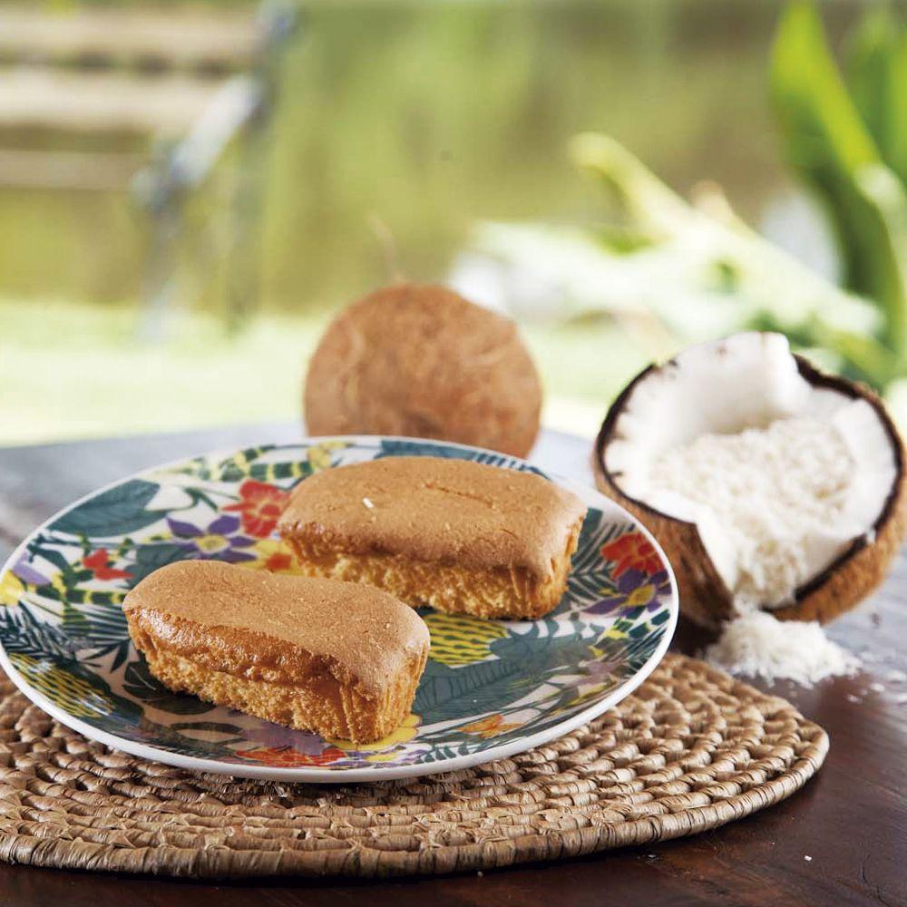 Minibolo de Coco Sem Glúten, Sem Açúcar, Sem Lactose, Sem Leite - Grani Amici Display 15 un. 600g