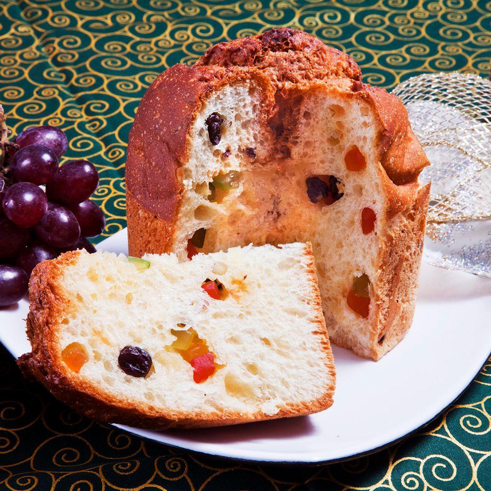 Panettone com Frutas Sem Glúten, Sem Lactose, Sem Leite - Grani Amici 300g