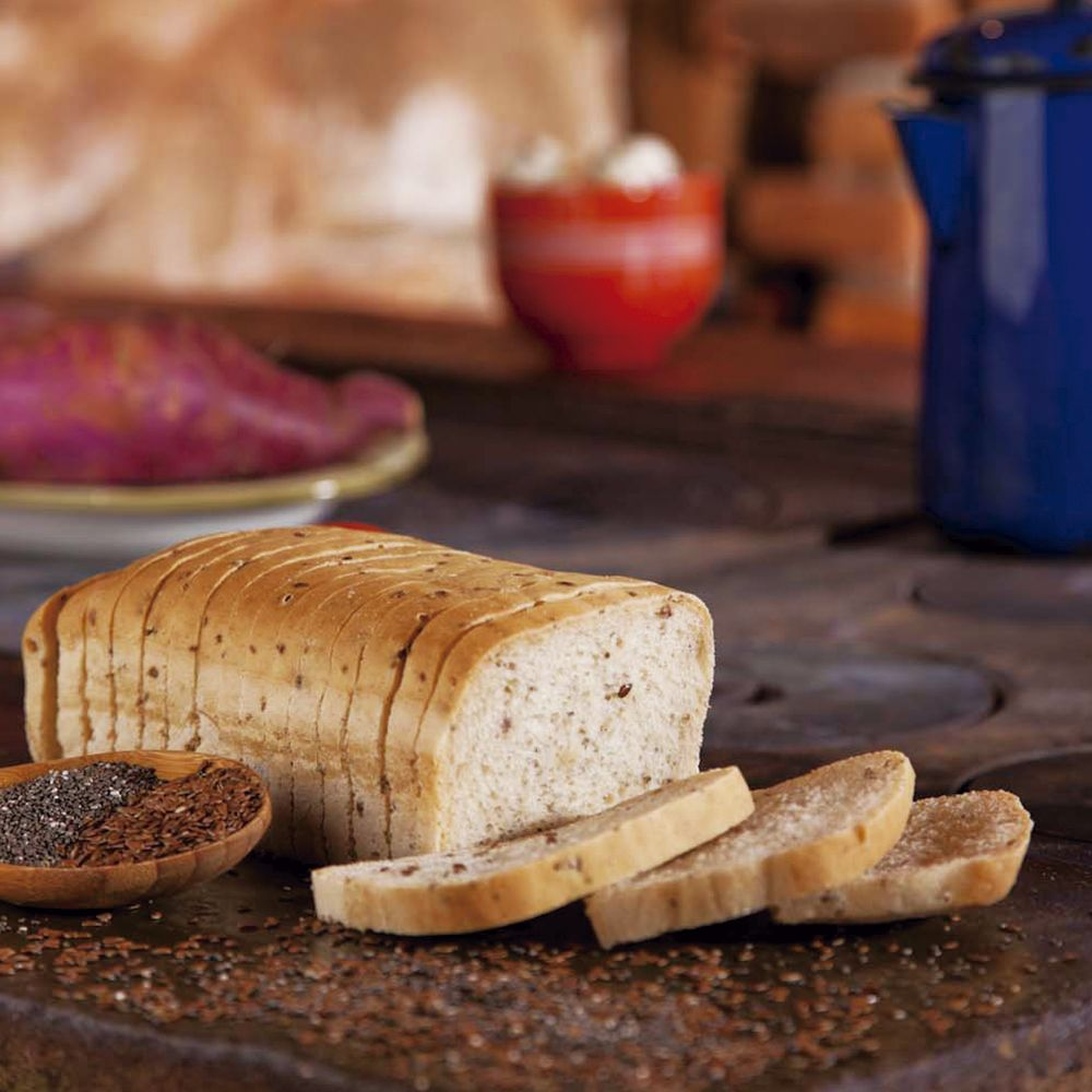 Pão de Forma Batata Doce com Grãos Sem Glúten, Sem Lactose, Sem Leite, Nova Receita - Grani Amici 420g