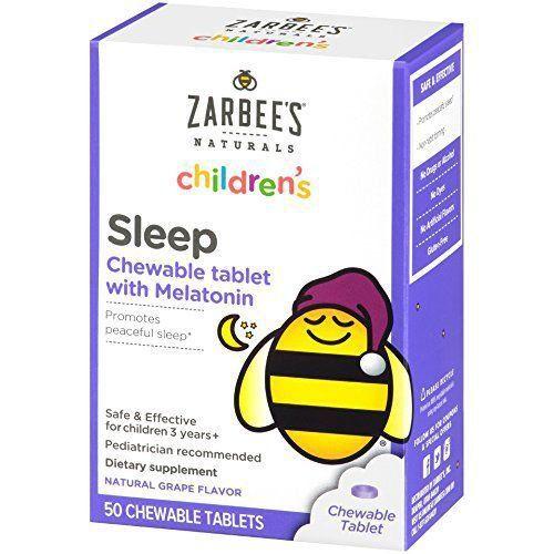 Melatonina Infantil 38 Comprimidos Sleep Zarbee's