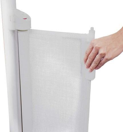 Grade Retrátil De Segurança Rolling Gate Branco Safety 1st