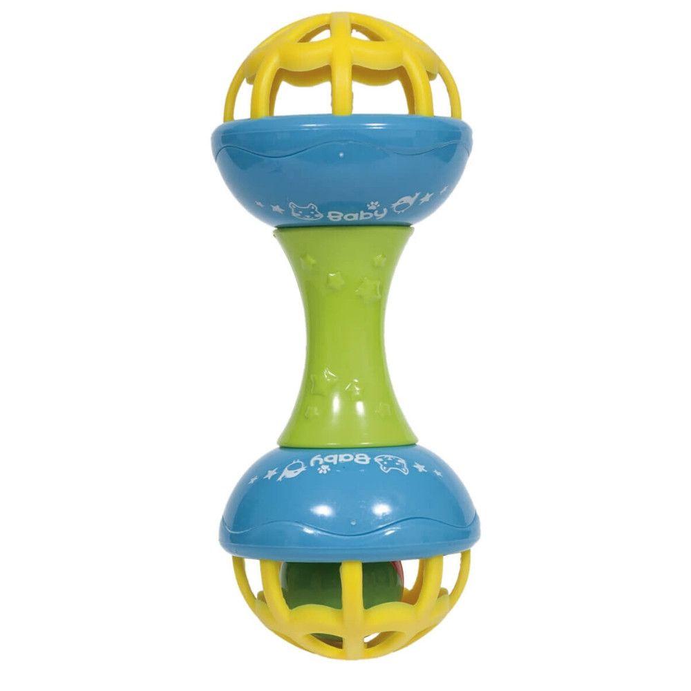 Brinquedo Chocalho Baby Shake Atividades Buba