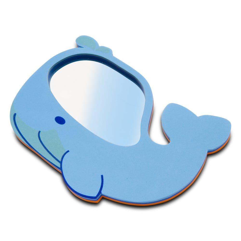 Espelho Para Banho Baleia Comtac Kids & Care