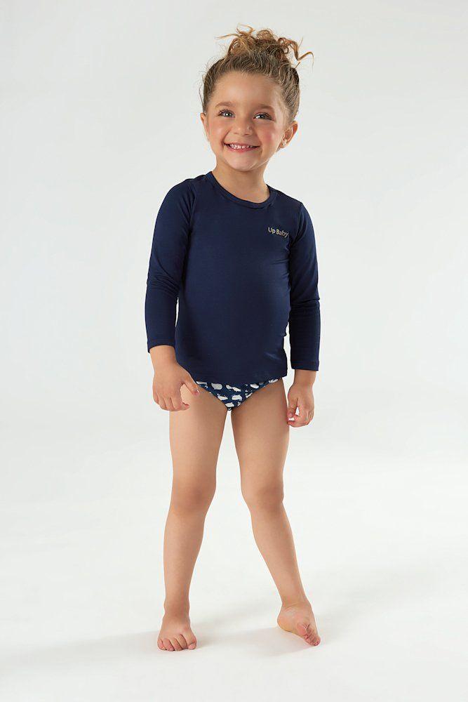 Blusa De Proteção Azul Marinho Rio Ondas