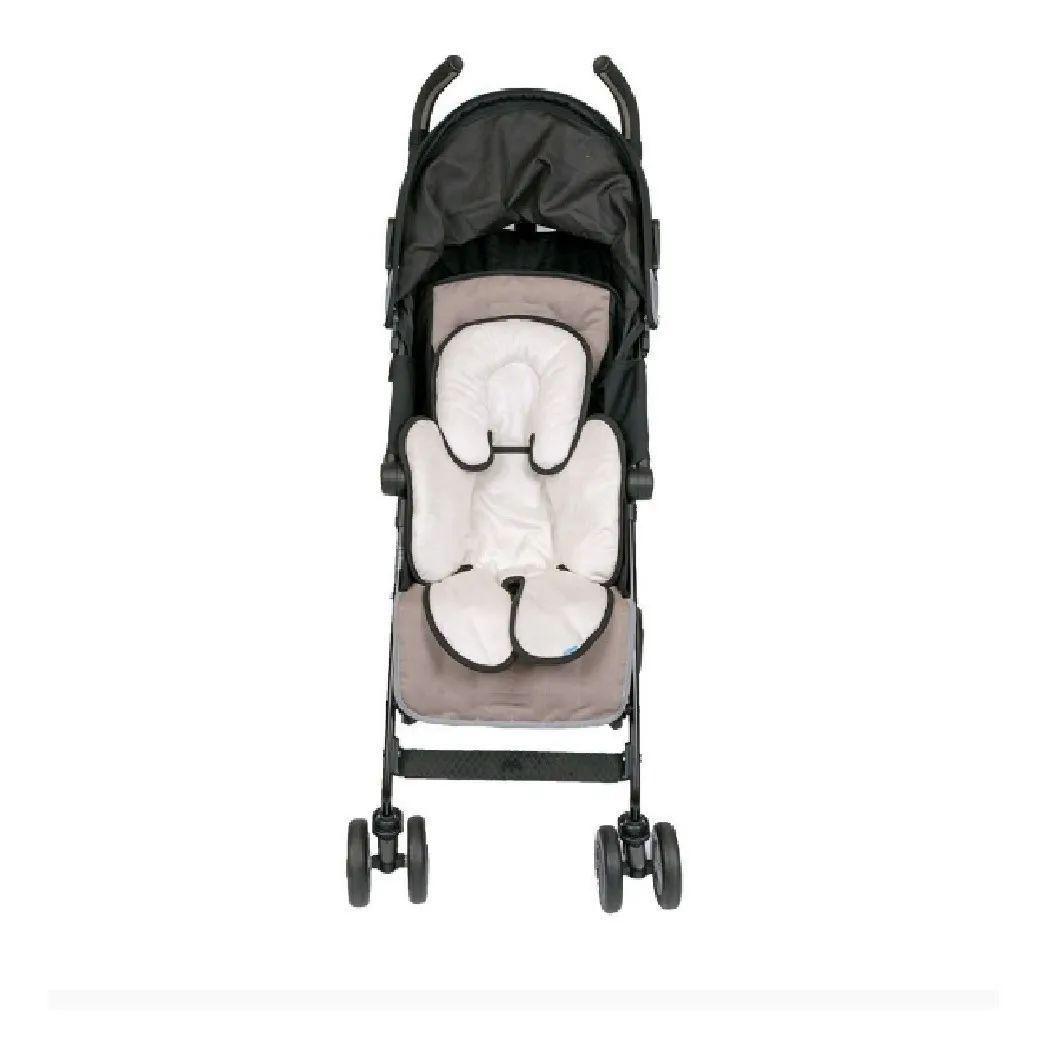 Almofada Para Bebê Conforto Cadeirinha Branco E Preto Clingo