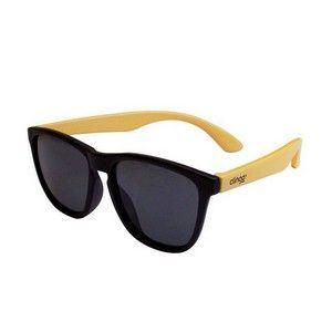 Óculos Escuro Preto Com Amarelo Clingo