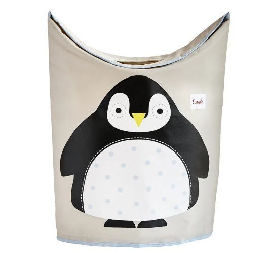 Cesto De Roupa Pinguim 3 Sprouts