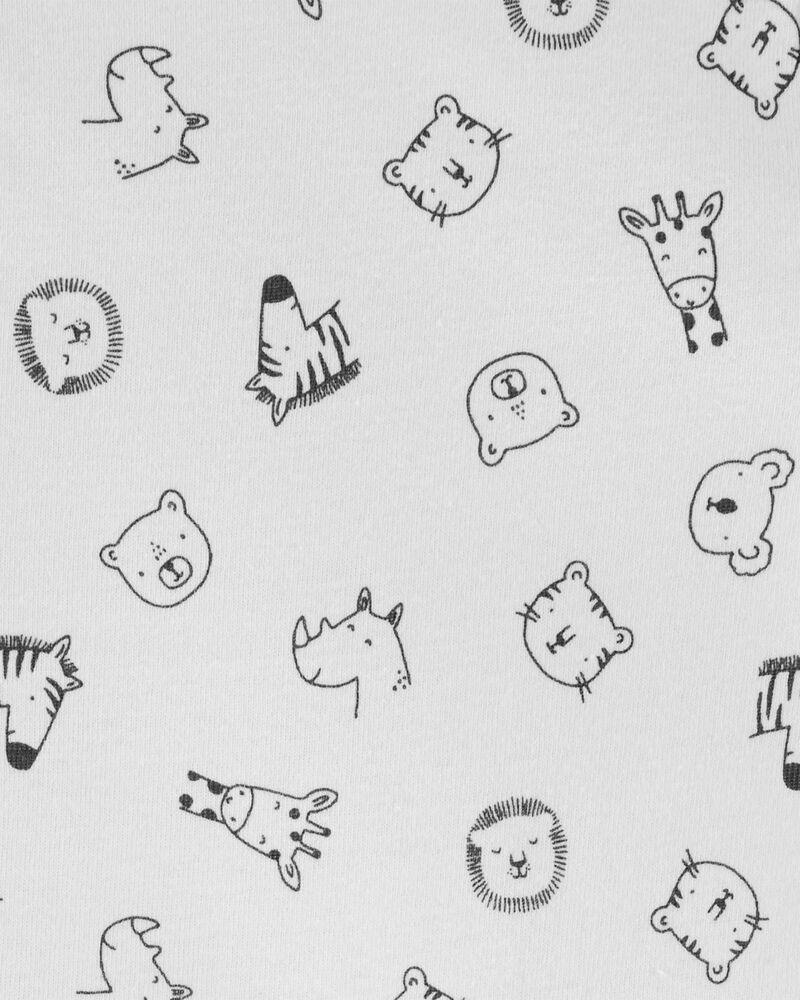 Conjunto 3 Peças De Matelassê Baby Bear Club Animais Carter's