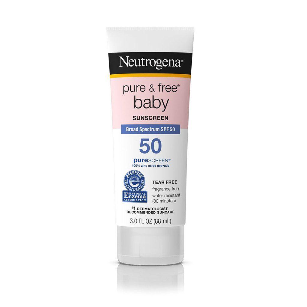 Protetor Solar Creme Pure & Free Baby SPF 50 Neutrogena