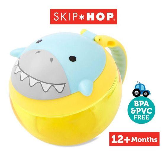 Potinho De Lanche Zoo Tubarão Skip Hop