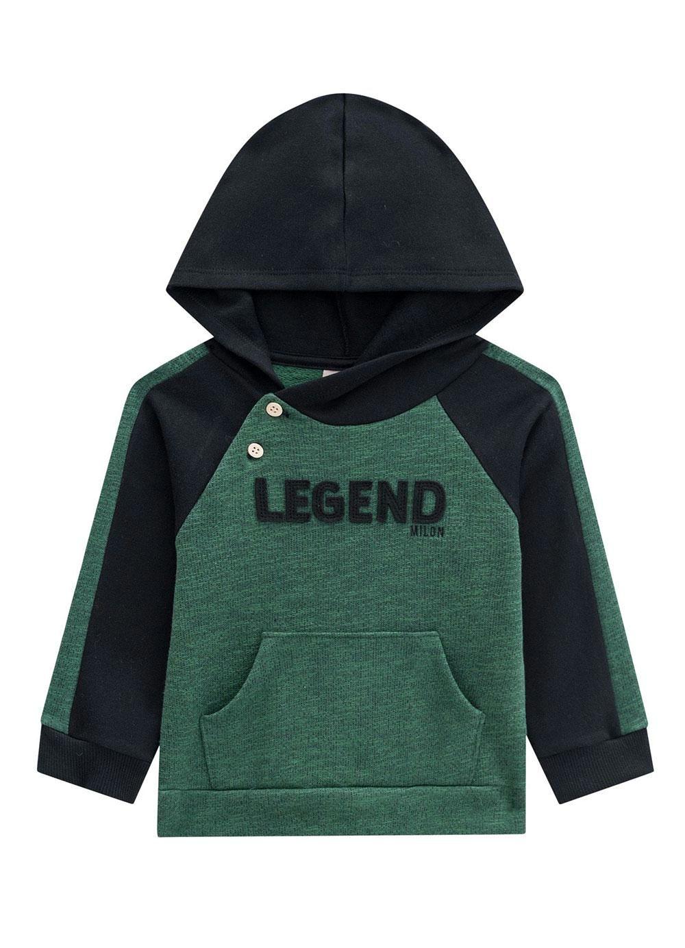 Conjunto De Moletom Casaco E Calça Legend Verde Milon
