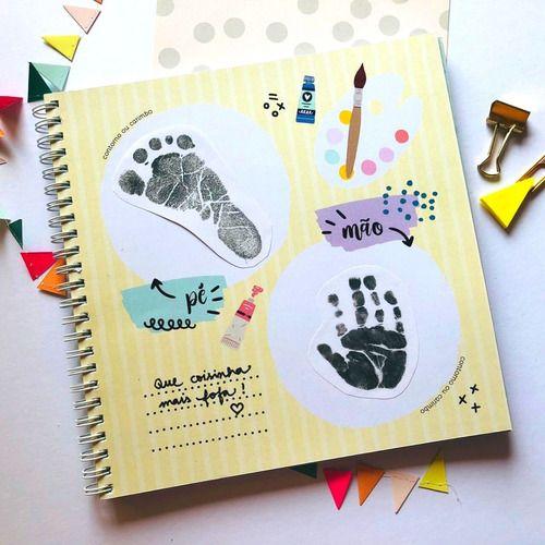 Álbum do Bebê Rosa Coloré