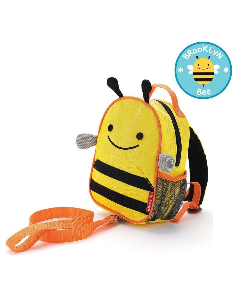 Mini Mochila Guia Zoo Safety Harness Bee Skip Hop