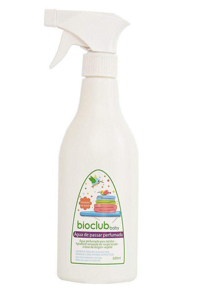 Água De Passar Perfumada Orgânica Cheirinho De Bebê 500ml Bioclub