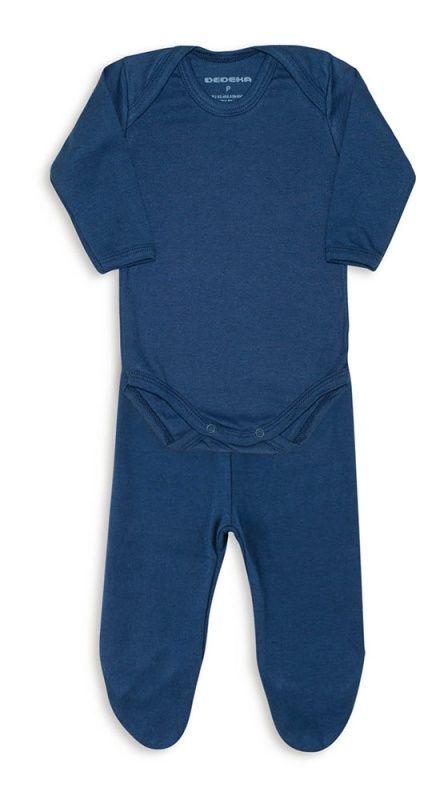 Conjunto De Body De Ribana Azul Marinho Dedeka