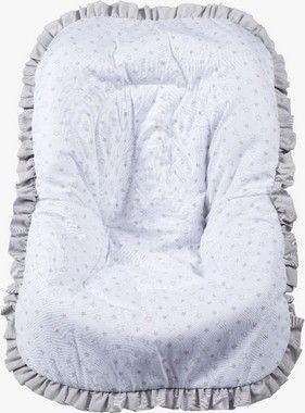 Capa De Bebe Conforto Estrelinha Cinza Premium Brubreleu Baby