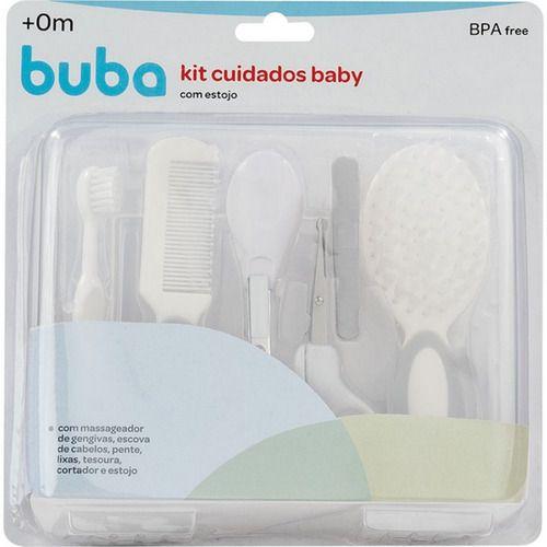 Kit Cuidados Baby Com Estojo Buba