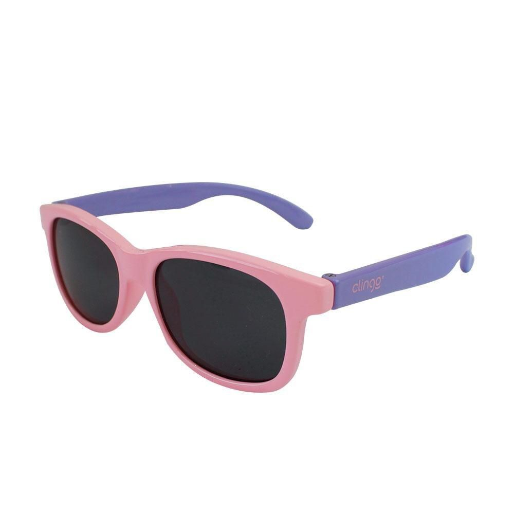 Óculos Escuro Rosa Com Lilás Clingo
