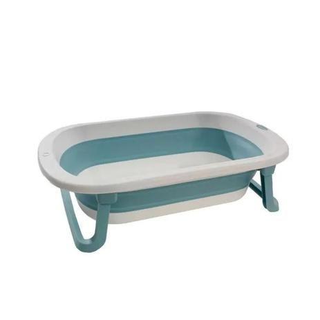 Banheira Dobrável Azul Kababy