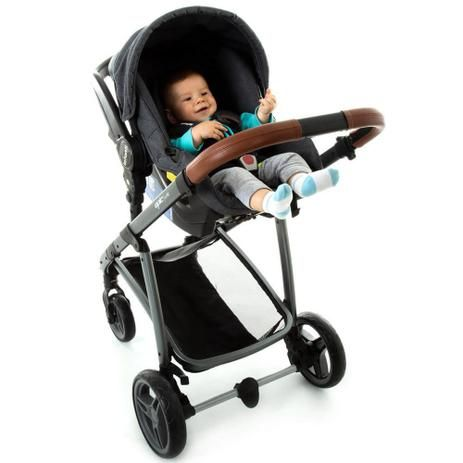 Carrinho de Bebê Travel System Epic Lite Trio Vintage Infanti